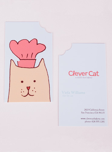 Clever-Cat-Business-Card-Detail