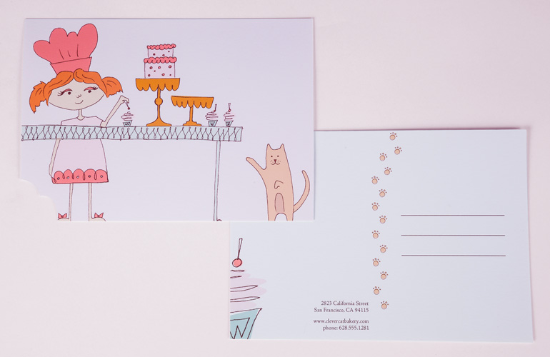 Clever-Cat-Thank-Your-Card-Detail