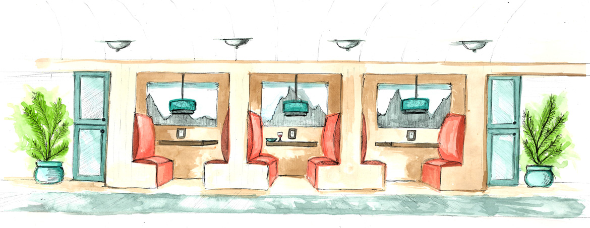 Dining-Car-Color-Rendering