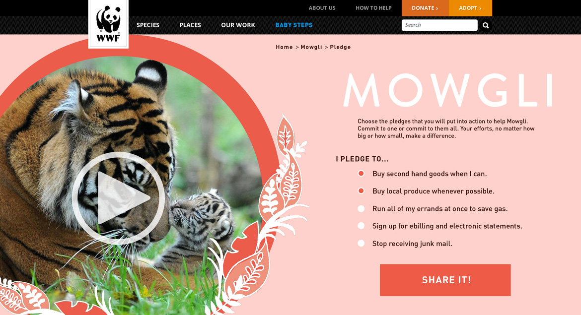 WWF-Mowgli-Pledge-Page