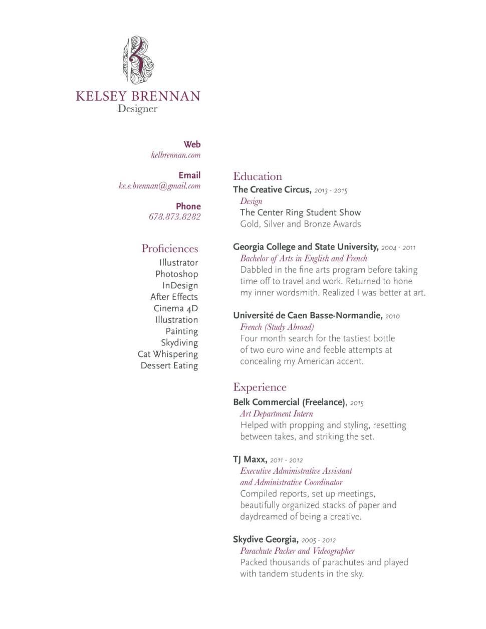 KelseyBrennan.Resume